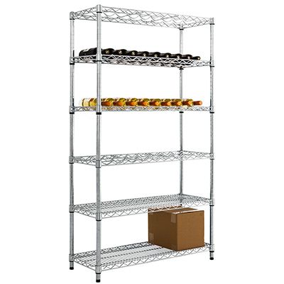 Full Height Wine Rack With Under Storage