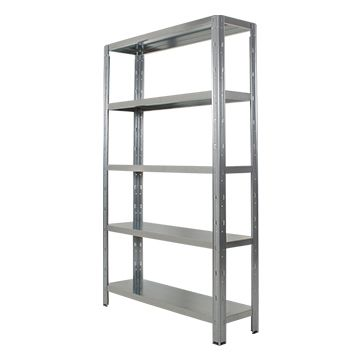 Idea Plus Galvanised Shelving